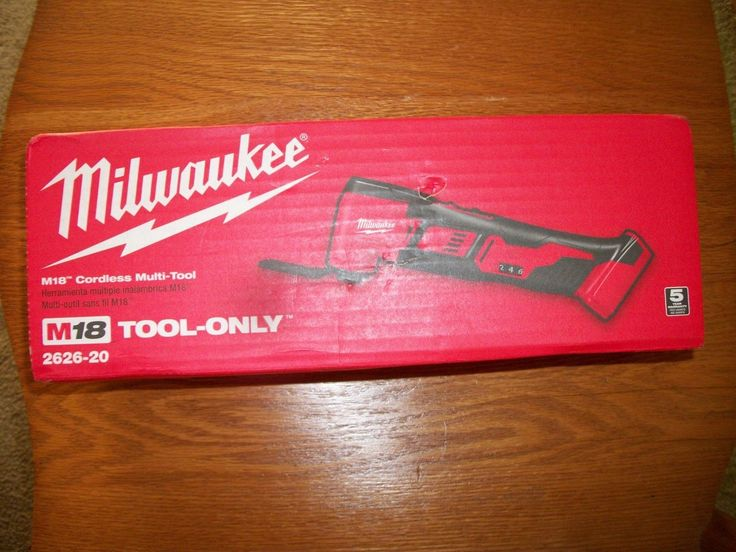 Other Power Tools 632: (New) Milwaukee 2626-20 M18 Cordless Li-Ion Oscillating Multi-Tool Bare Tool -> BUY IT NOW ONLY: $102.95 on eBay!