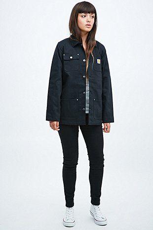 Carhartt Chore Coat in Black - Urban Outfitters