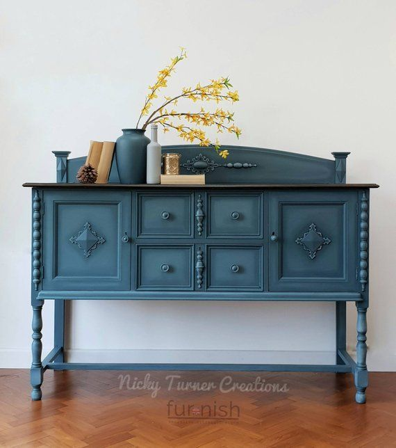 Now Sold Painted Sideboard Painted Dresser Painted Buffet