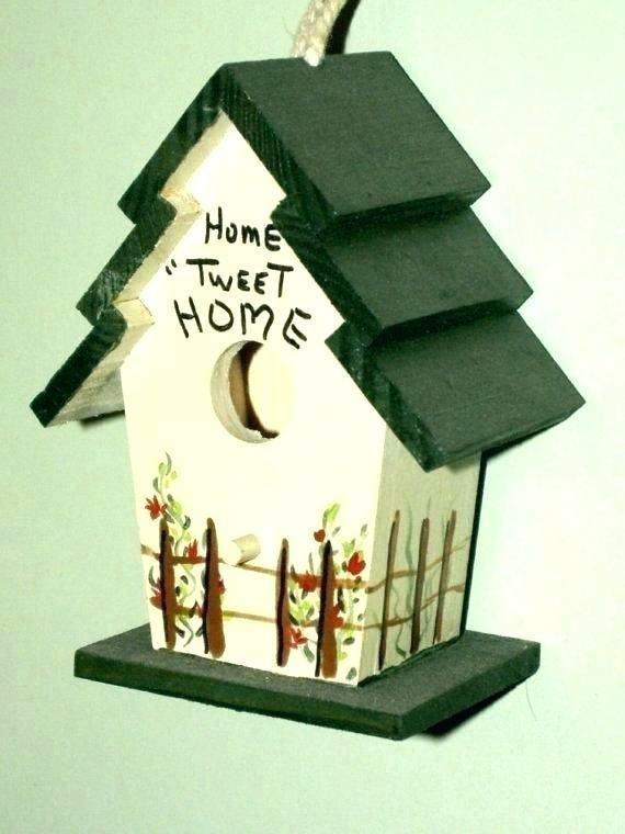 44 Bird Home Decor Bird Houses Painted Decorative Bird Houses Bird Houses