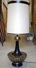 Vintage Hollywood Regency Lamp & Shade for sale on eBay- Local Pickup Only