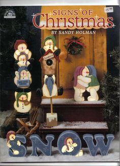 # Signs of Christmas (free online patterns & instructions)