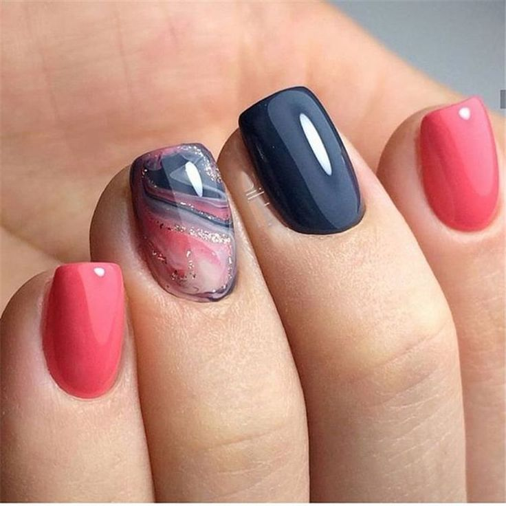 45 Gorgeous Nail Art Designs Ideas For Short Nails – Nagelkunst Design