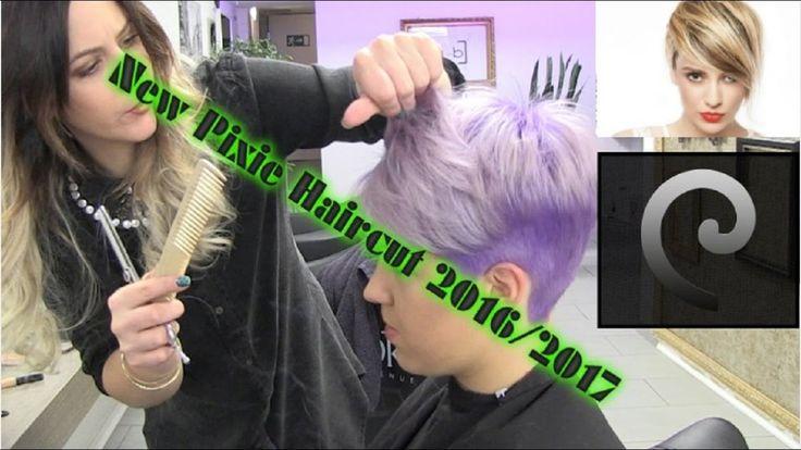 Pixie Cut Tutorial - New Pixie Haircut 2016/2017- Short Pixie Hair 2016!!!