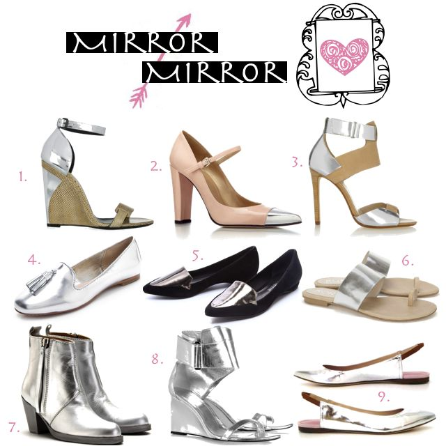 mirror shoes = love