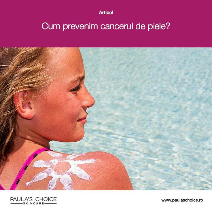 În fiecare an apar în jur de 1 milion de cazuri noi de cancer de piele, expunerea la radiațiile solare reprezentând una dintre cauzele acestei afecțiuni. Află ce poți face pentru a preveni cancerul de piele citind articolul.