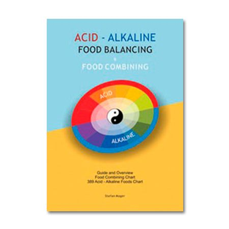 A useful and convenient overview of the important acid / alkaline food balance. A four page table sets out 380 of the most common foods and their respective alkaline / acid producing capacities. This chart will assist in selecting balanced foods at a glance.