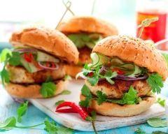 Burger Thaï (facile, rapide) - Une recette CuisineAZ