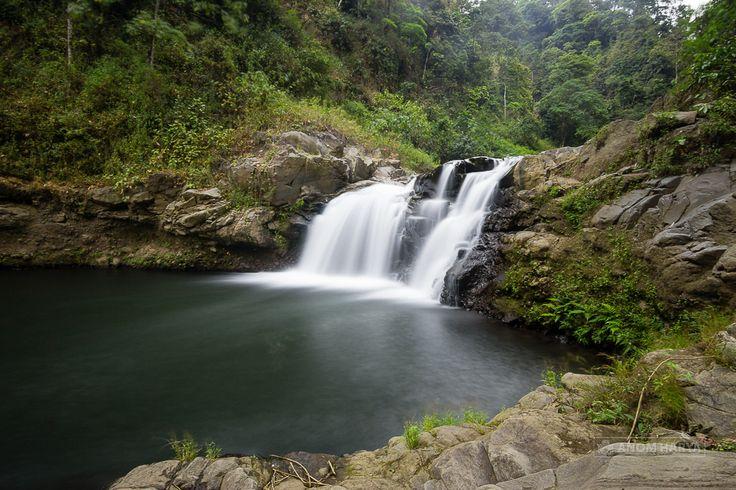 Penampakan Air Terjun Triban