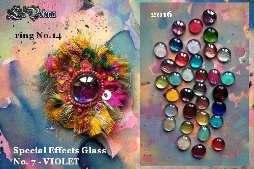 https://flic.kr/p/S2YtLy | SPECIAL EFFECTS GLASS ring by La Polena