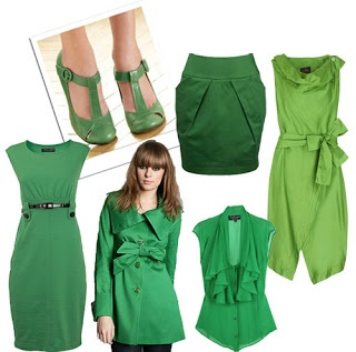 perfectly green in fashion