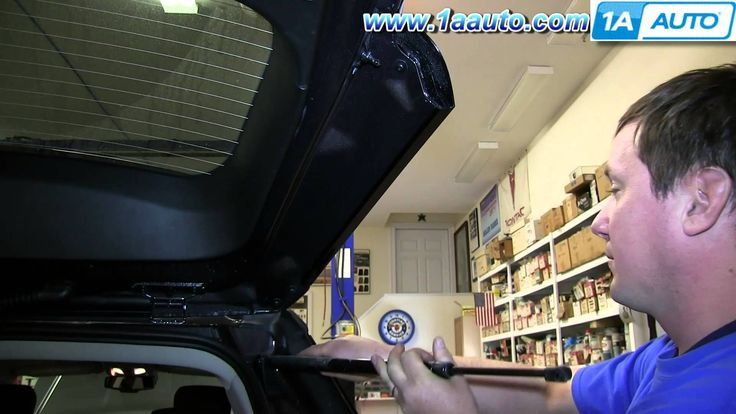 How To Install Replace Rear Hatch Strut GMC Terrain Chevy Equinox