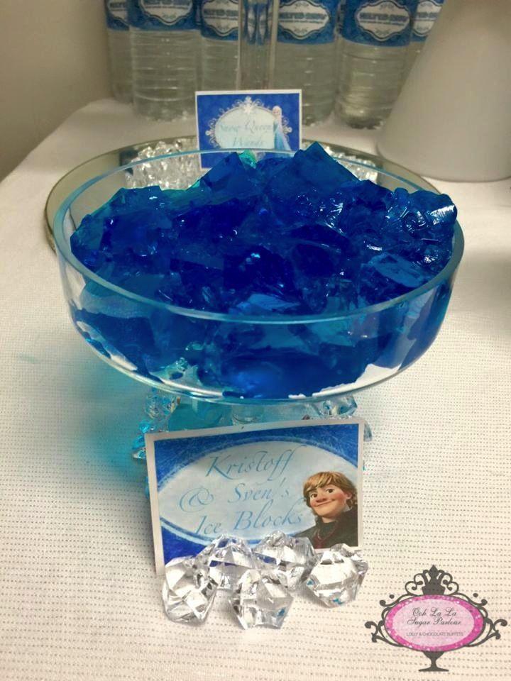 Ooh la la Sugar Parlour - Frozen Lolly Buffet.....Kristoff & Sven's Ice Blocks