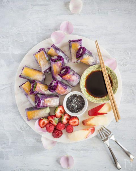 パプリカと紫キャベツの生春巻き by 前田直宏 | レシピサイト「Nadia | ナディア」プロの料理を無料で検索