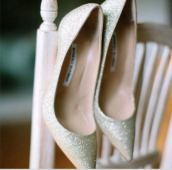 Zapatos de novia. Precioso modelo de Manolo Blahnik. Foto: Manolo Blahnik