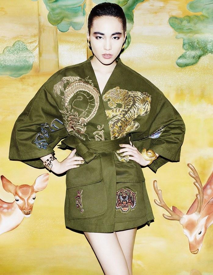 Saki Asamiya | 'Neo Nippon' | by Matt Irwin | for the April 2013 issue of Vogue Japan.