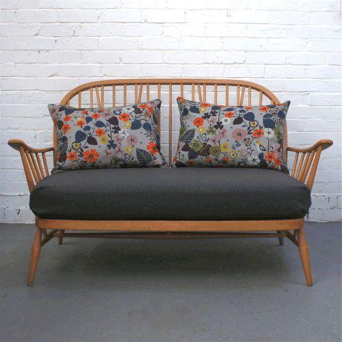 Bespoke Vintage Ercol 2 Seater Sofa