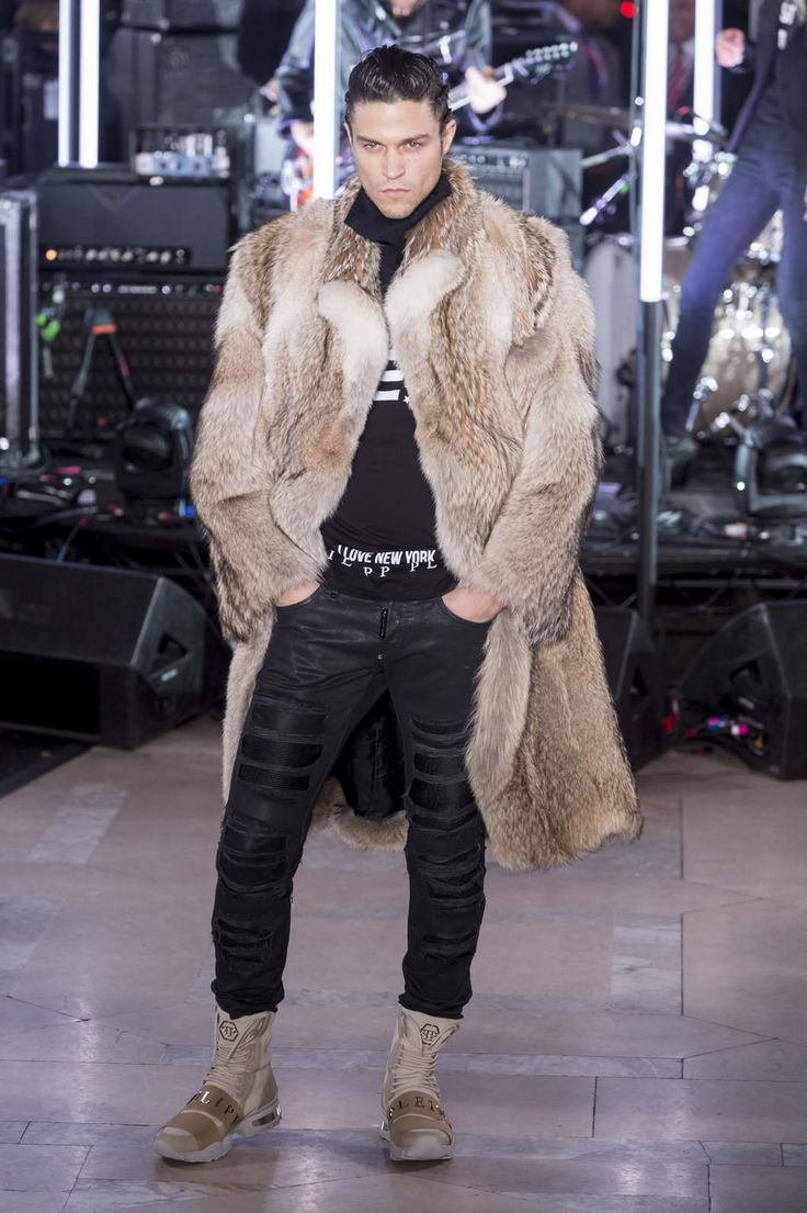 Male Fashion Trends: Philipp Plein Fall-Winter 2017 - New York Fashion Week