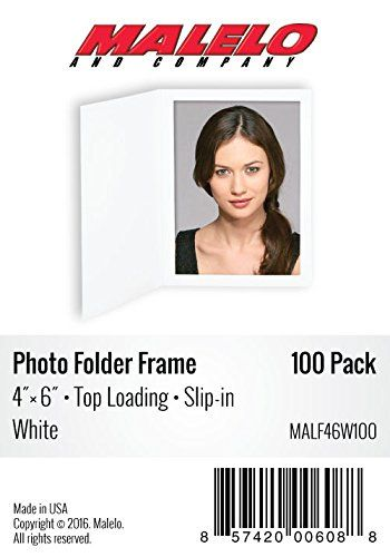 Cardboard Photo Folder Frame 4x6  Pack of 100  White * Want additional info? Click on the image.