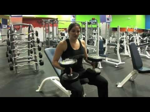 This lady taught me so much! I love the way she lays everything out!  Muscle & Strength: Weight Training for Women Day 2 (+playlist)