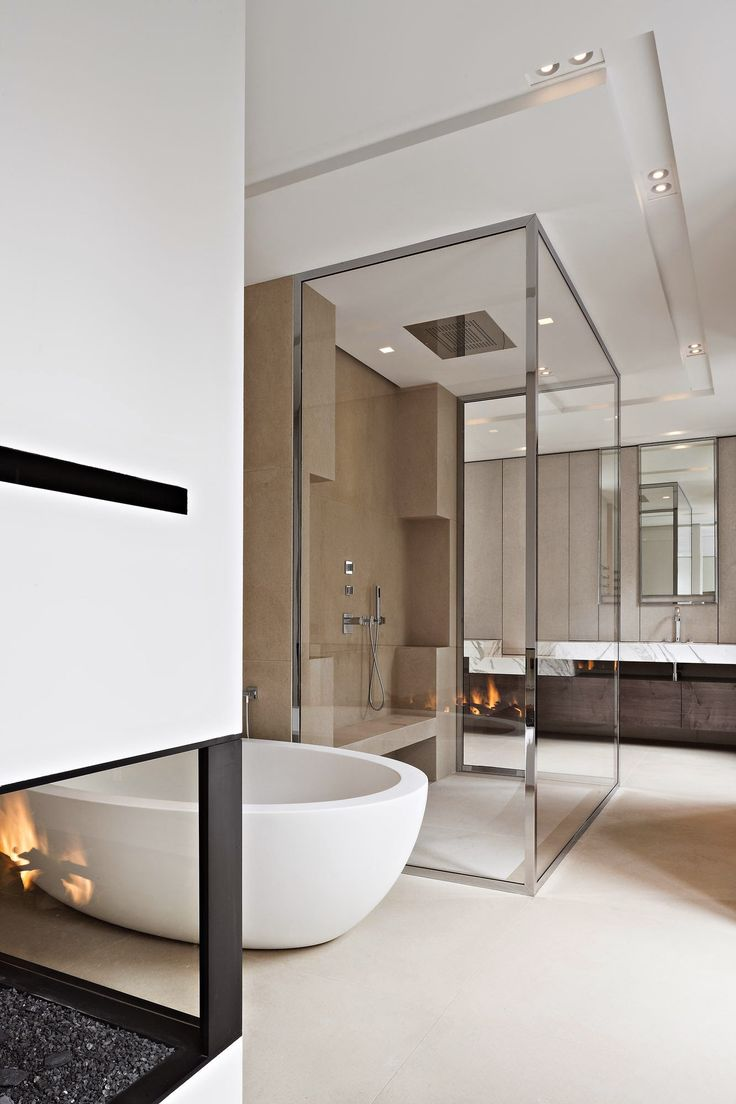 Contemporary condo bath modern bathroom chicago by jill jordan - Crisp Sleek Bathroom Modern Master Bathroomminimalist Bathroomcontemporary