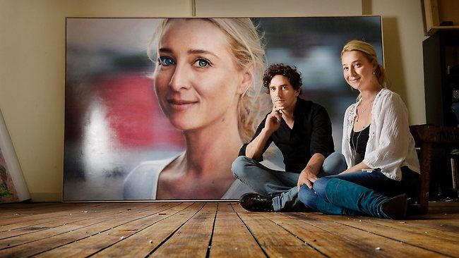 Vincent Fantauzzo portrait of Asher Keddie wins People's Choice in the Archibald Prize
