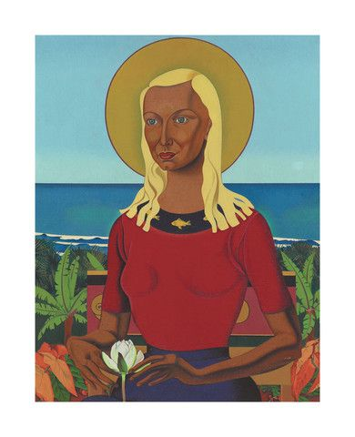 Rita Angus - Rutu 1951  Gallery Prints