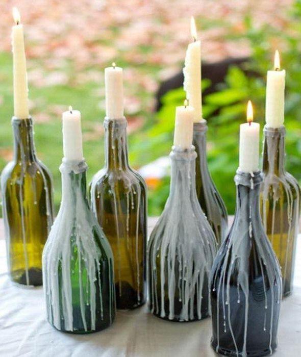 Cinco manualidades para reciclar botellas de vino – LOQUENOSABIAS.NET – Lo Mejor…