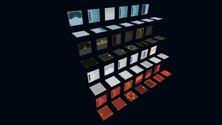 3D Modular Sci-Fi Environment Pack on Unity Asset Store 7