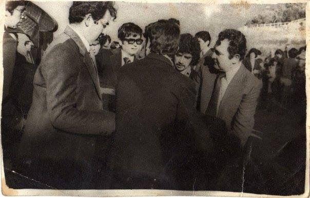 Galería Histórica de Carahue. Sociedad y Época:  Funeral de José Damián Ulloa Aguayo, 1979.     Gentileza de la Familia.-     #ghc #carahue #memoria #patrimoniofotografico