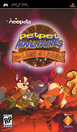 Neopets: Petpet Adventures PSP