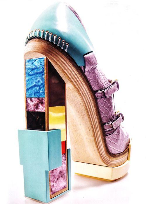 Balenciaga: Fashion, Design Shoes, Balenciaga Heels, Crazy Shoes, Lady Footwear, Christian Louboutin Shoes, Balenciaga Shoes, Shoes Art, Architecture Heels