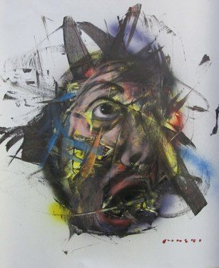 "Saatchi Online Artist Masri Hayssam; Painting, ""Screaming self p-new expression series"" #art"