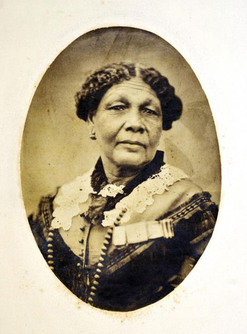 (Though she was born in the Carribbean, we should all know the history of Mary Seacole. Thus she is included in this set of images.) Mary Seacole -After the outbreak of the Crimean War in 1853, Seacole traveled overseas to the British War Office, determined to serve as an army nurse. Then when she was refused, she funded her own trip to Crimea, started a hotel for injured officers (built out of salvaged materials), and braved enemy fire to nurse the wounded on the battlefield.