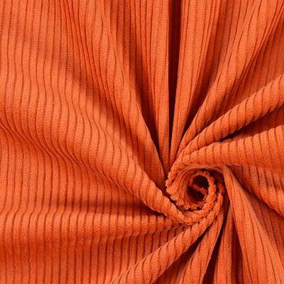 465 Kč/m Široký manšestr 11 - Bavlna - oranžová