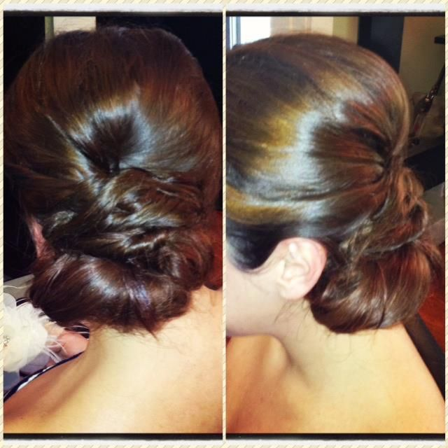Hair: Michelle McMillan  #elegant #soft #romantic #waves  #weddinghair #bridalhairstyles #bridalhairstylist #updo #hairstyle  www.glitterknockout.com