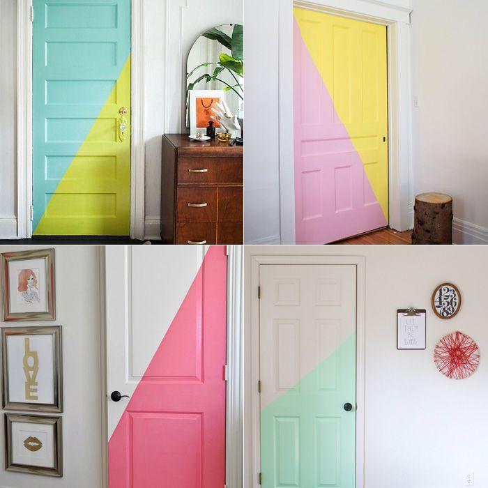 <p>Entre tantos jeitos legais que você pode encontrar para reformar ou decorar seu quarto de uma forma diferente, apostamos que essa você nunca chegou a imaginar: Renovar totalmente a sua porta!Pois é, seja a própria porta do seu quarto ou até do banheiro, caso você tenha uma suíte, pode ser uma saída bacana (ok, não […]</p>