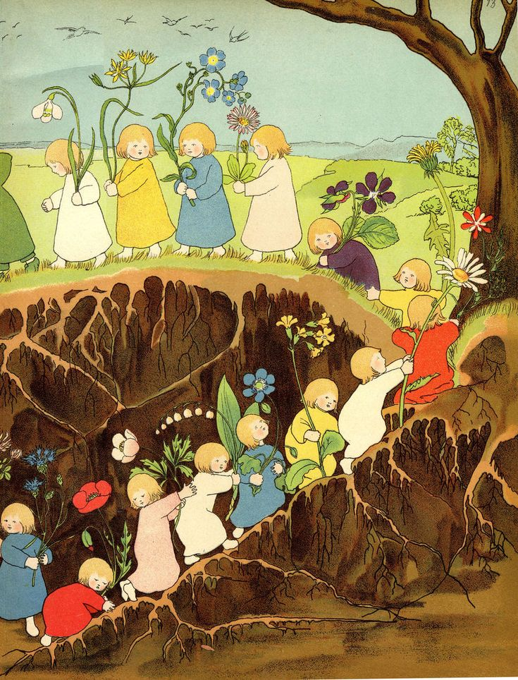 the root children (from the online children's library)