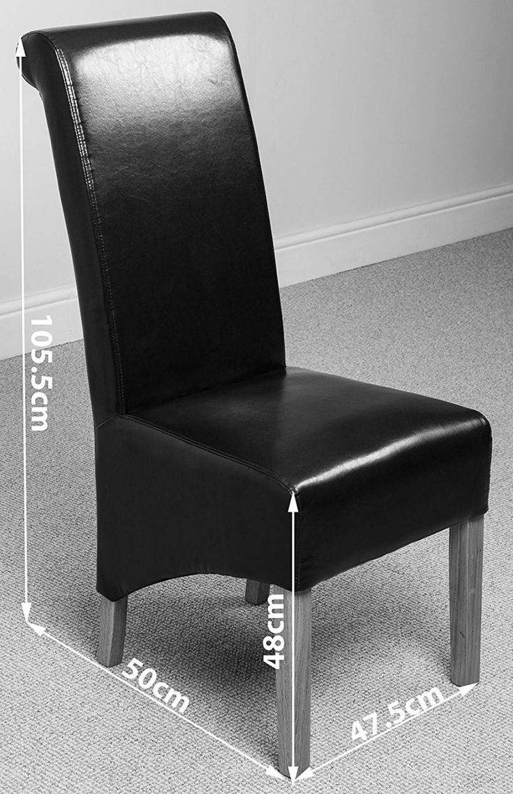 70+ Black Leather Dining Chairs - Rustic Modern Furniture Check more at http://www.ezeebreathe.com/black-leather-dining-chairs/