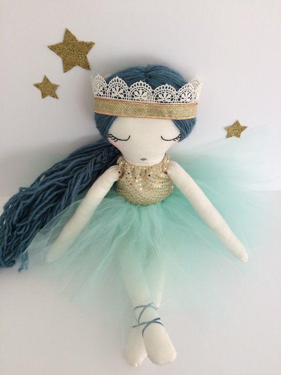 Ballerina Doll Tutu Doll handmade doll cloth doll by aprilmoffatt