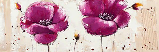 New+Life+Collection+-+Sag´s+mit+Blumen+-+handgemaltes+Leinwandbild+günstig+kaufen+-+auch+auf+Rechnung!