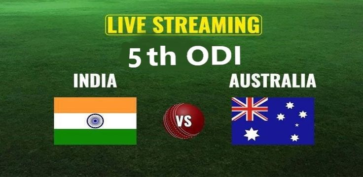 Ind vs Aus 5th ODI Live Streaming from Vidarbha Cricket Association Stadium, Nagpur At the Star Sports 1 or Star Sports HD .....