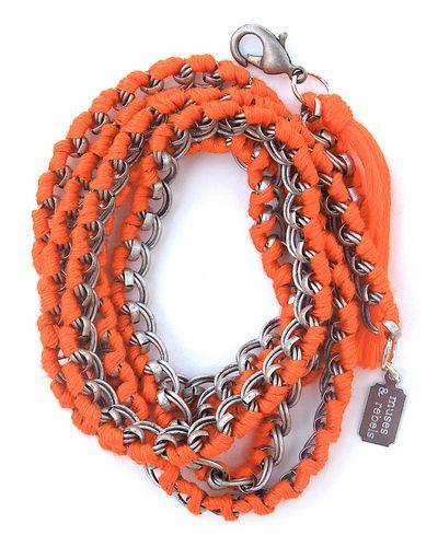 I like bulky bracelets.