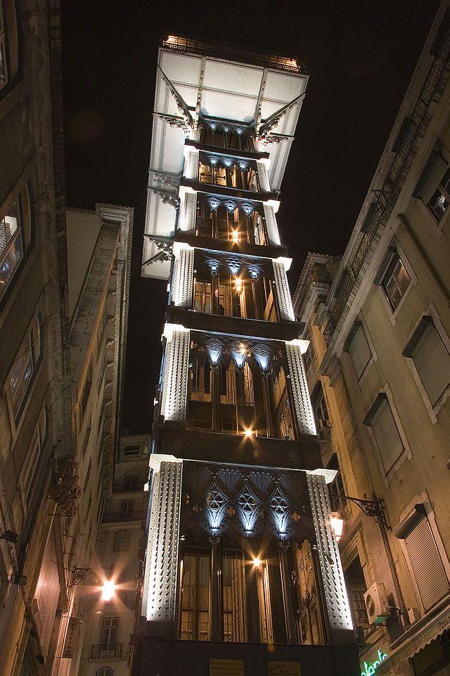 Estórias da História: 10 de Julho de 1902: É inaugurado o Elevador de Santa Justa, obra do engenheiro Raul Mesnier de Ponsard.