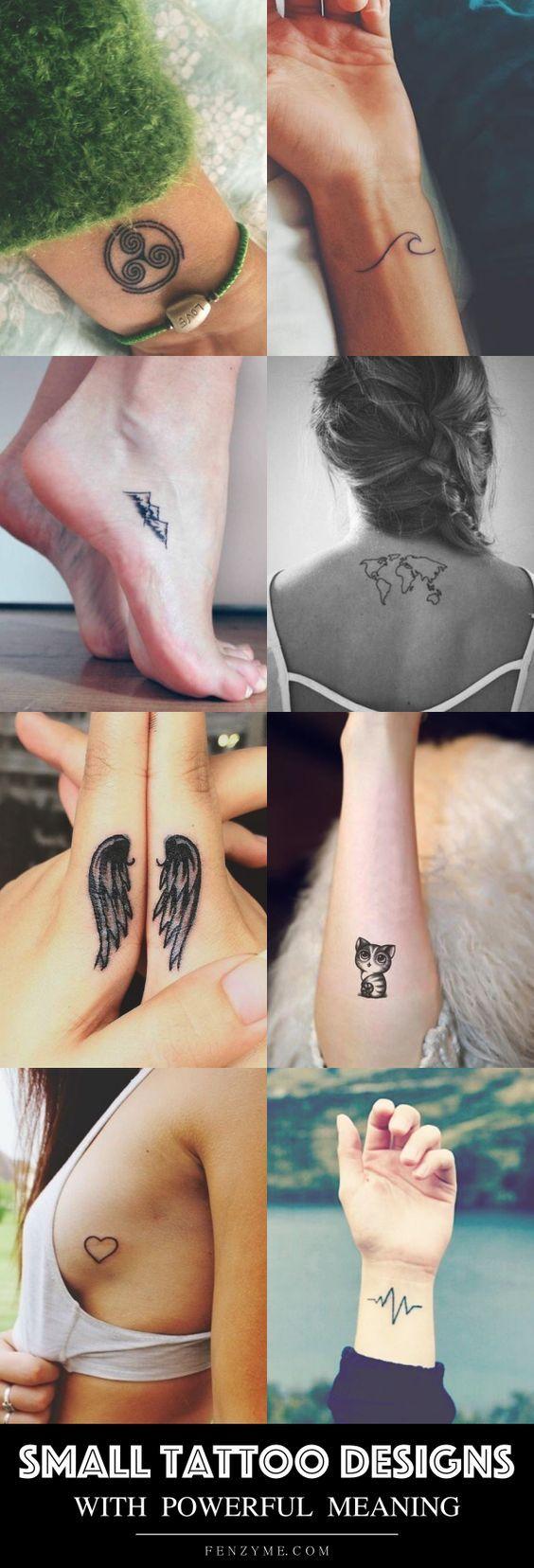 Small Tattoo Compass Ideas