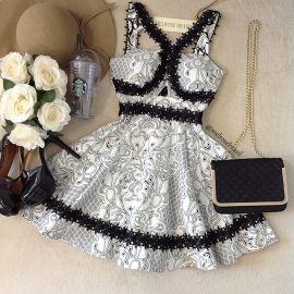 Vestido Liliane Boneca  Jacquard Premium C/ BOJO  ( D/ com Bordado E RENDA))