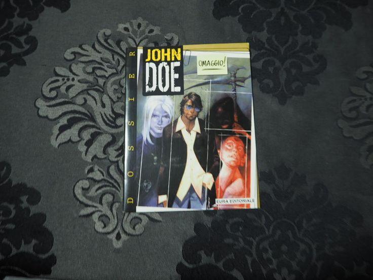 John Doe Dossier 1 Eura + altro Bonelli