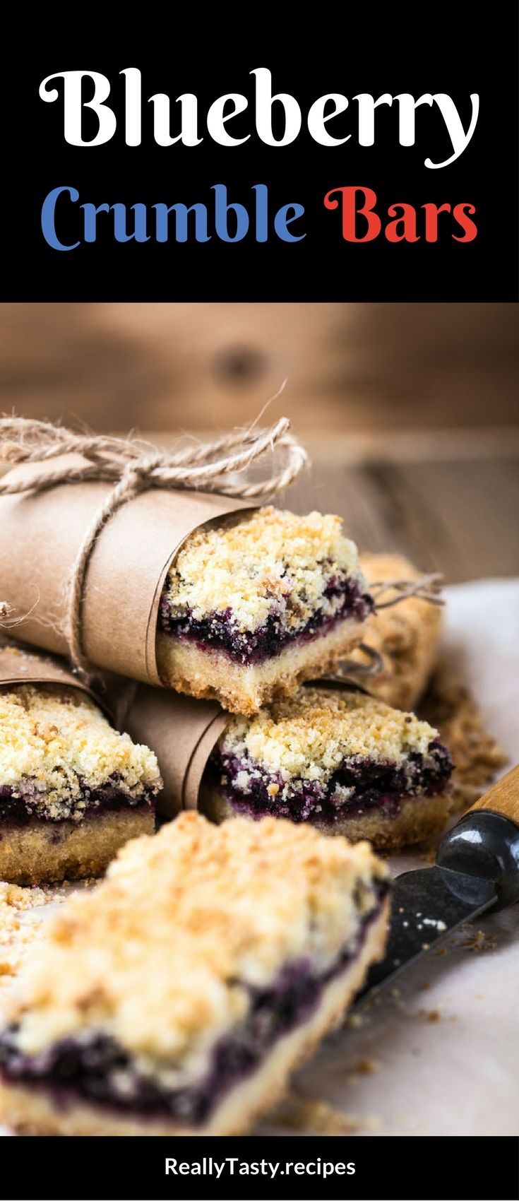 These blueberry crumble bars do exactly what the name says…they crumble in your mouth and taste mouth-wateringly delicious. You can't go wrong with blueberry, so these are well worth baking up.