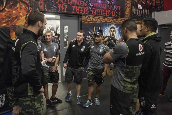 Going behind the scenes at @nzwarriors training session for a select few VIP competition winners.