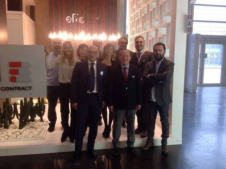 Our team together with the #architect Davide Bartolucci Studio A + D who made the #project of our successfull stand at #Euroshop Messe Düsseldorf GmbH